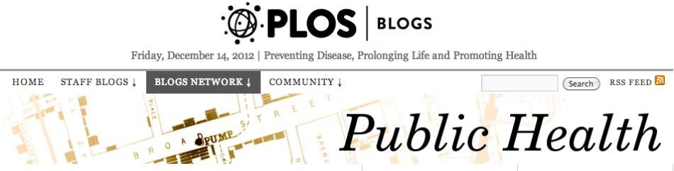PLOS Blogs public health
