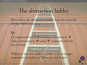 abstraction ladder